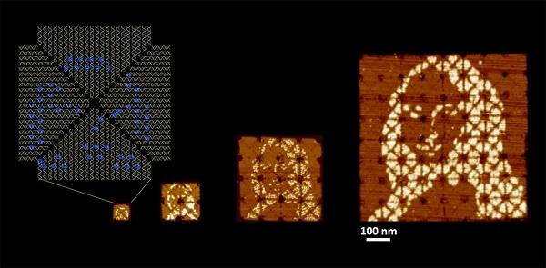 蒙娜丽莎的DNA版本新鲜出炉,预示可编程分子材料的进步