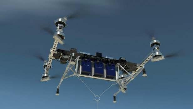 波音发布小巧型无人直升机,可一次载重227千克