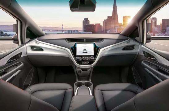 通用汽车推Cruise AV无人驾驶汽车,没有方向盘和刹车踏板