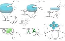 """华为公布手势动作输入方法新专利,让手背充当""""触控屏"""""""