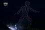 韩国冬奥会用一千多架无人机摆出空中滑雪人,随后又变化为五环图案是怎么做到的?