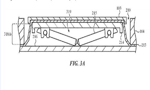 苹果新专利曝光,能抵御面包、泡面渣的键盘
