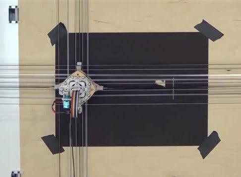 MIT博士研发绘画机器人Utensil,精通绘画和激光切割