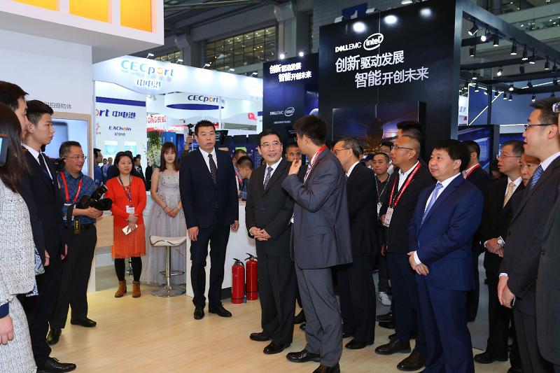 第六届中国电子信息博览会今日正式开幕,智享新时代!