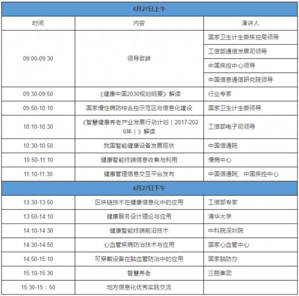 大智移云时代如何管理慢性病? 中国慢性病信息化大会将在京举行
