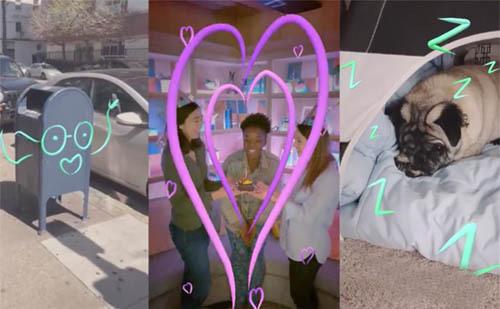 Facebook推出新的AR涂鸦工具,可让用户在视频中实时涂鸦