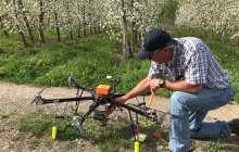 美初创Dropcopter利用无人机解决作物低产问题,可实现高达60%的授粉率