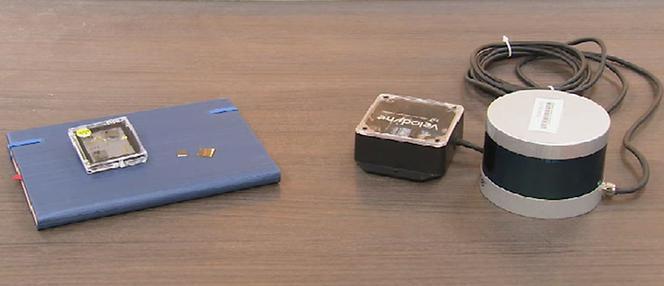 南洋理工大学研发出微型激光雷达,成本只有现在的1/200