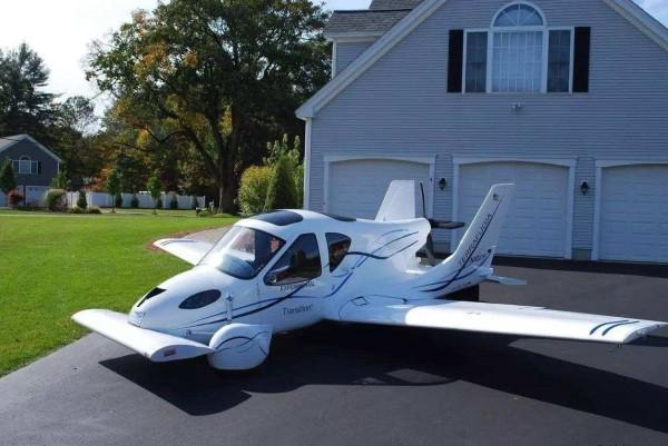 Transition飞行汽车来了,采用电力驱动且可陆空两用