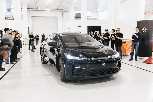 贾跃亭终于造出了车:法拉第未来宣布首辆预产车下线