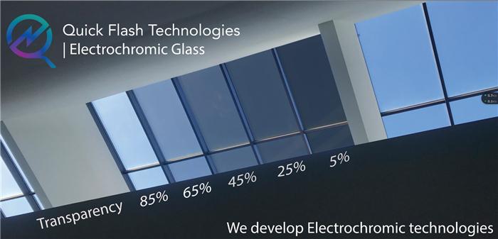 Quick Flash陈烨玥:1383亿美元的建筑玻璃市场将有「电致变色玻璃」的一席之地