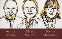 时隔55年,2018诺贝尔物理学奖迎来了史上第3位女性获得者!激光物理学三位科学家共享荣