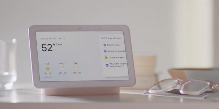首款带屏智能音箱、前置双摄Pixel 3,这届谷歌发布会有点平淡