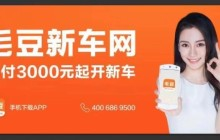毛豆新车更换slogan 启动新一轮广告投放