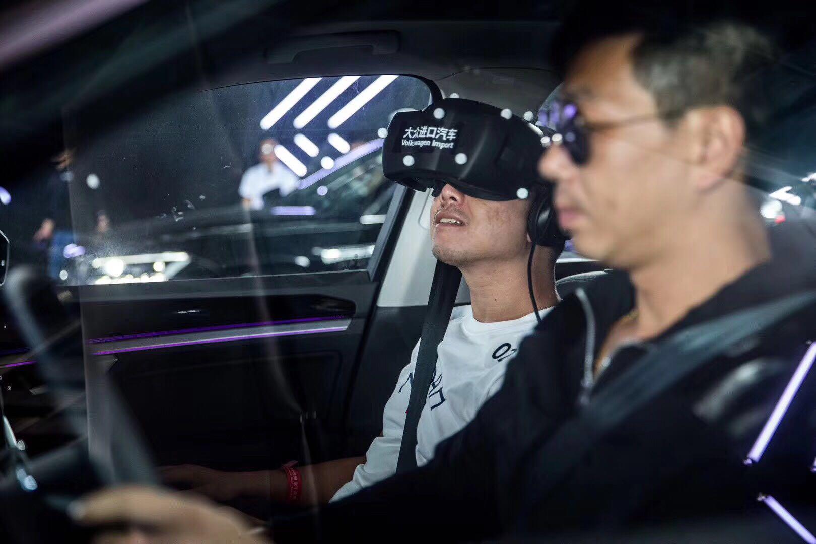 诺亦腾携手大众进口汽车,打造全球首次全体感景域融合式VR驾乘体验