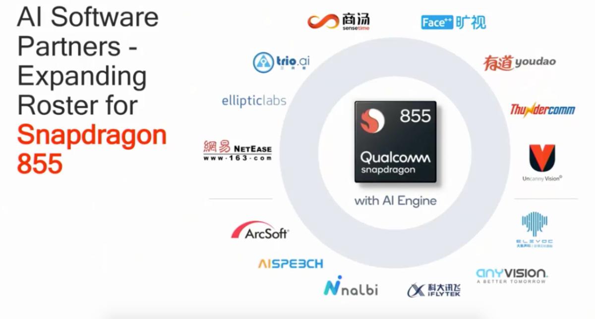 2018高通骁龙峰会,大象声科在内的合作伙伴基于骁龙855实现的AI升级成为全场亮点