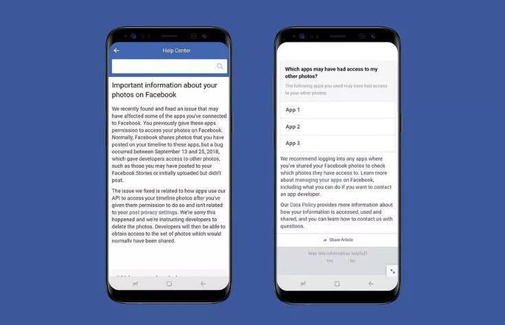 """Facebook难逃""""泄露魔咒"""", 680万用户私人照片被爆出遭遇""""被共享"""""""