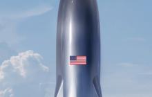 马斯克晒SpaceX星际飞船概念图,运载能力达250吨,要飞往另一个恒星系统