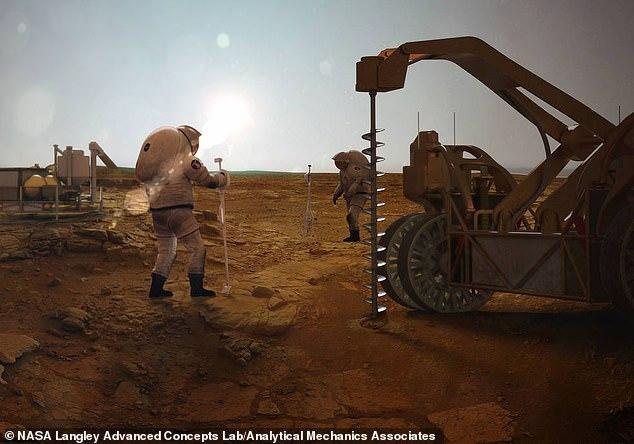 """""""冰上钻井,化冰取水"""",NASA要在火星钻井为宇航员拿到液态水"""