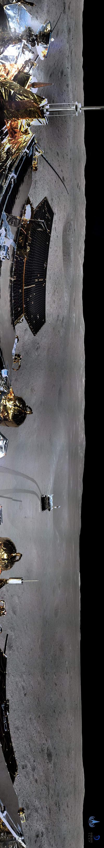 """嫦娥四号传回""""旅行照"""",全球首张照片值得一声""""哇""""!"""