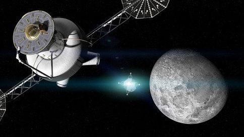 """NASA公布""""门户计划"""",在月球轨道建立空间站进一步探索月球"""