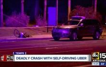 Uber无人车撞死行人案判决;传无人机厂商亿航计划今年赴美IPO