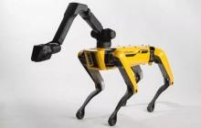 Boston Dynamics再秀肌肉,10台SpotMini排排队一起拉卡车