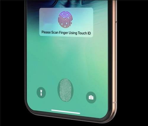 苹果新专利曝光,或将支持全屏指纹解锁