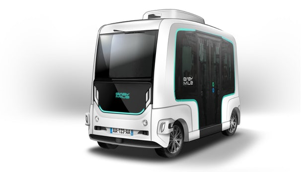 EasyMile推出升级版EZ10无人驾驶公交车,可实现所有驾驶和环境监测功能